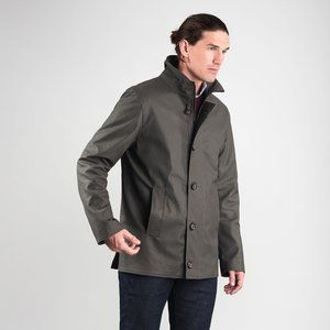 M0851 Men's Stand collar Twill jacket